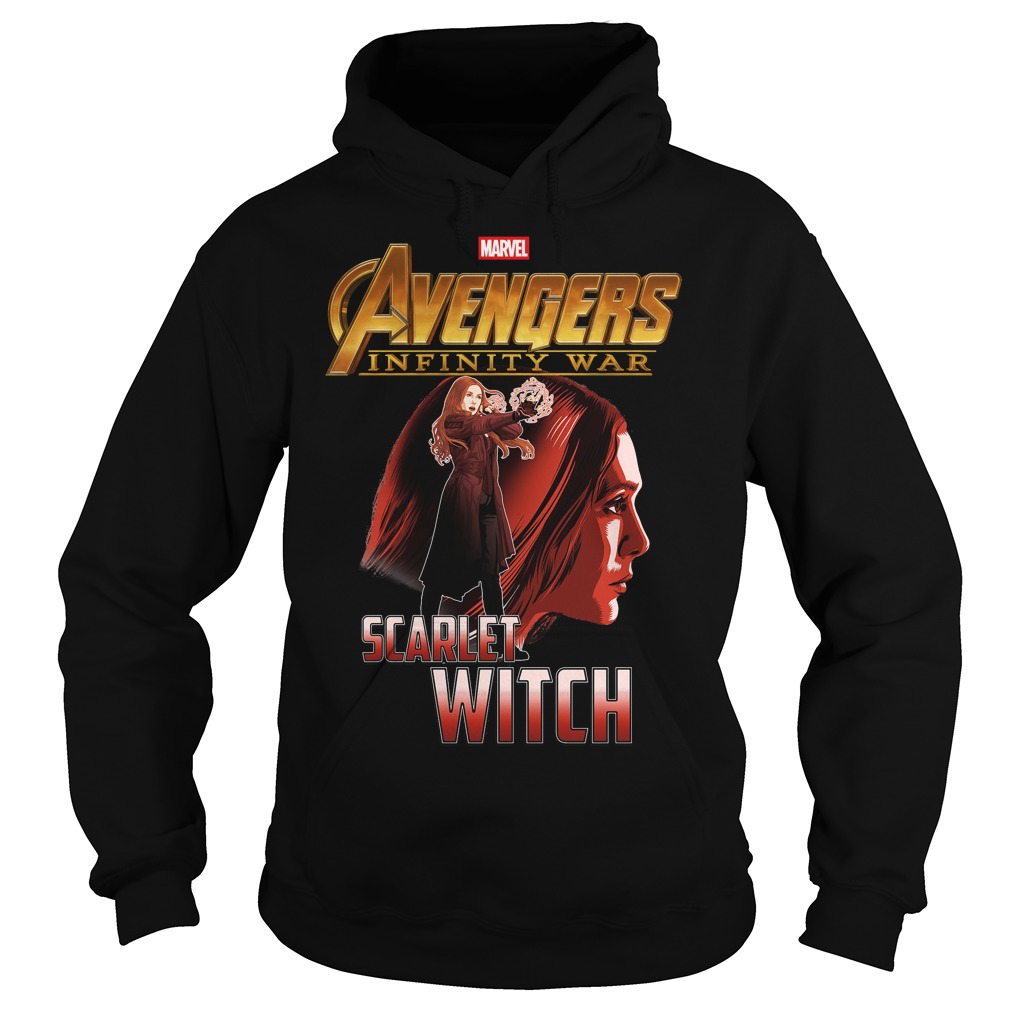 Avengers Infinity War Scarlet Witch Hoodie
