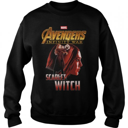 Avengers Infinity War Scarlet Witch Sweater