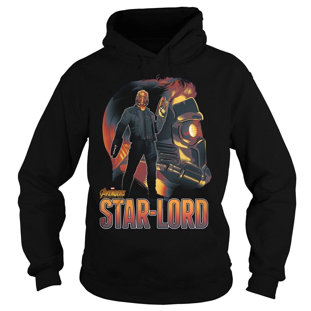 Avengers Infinity War Star Lord Hoodie