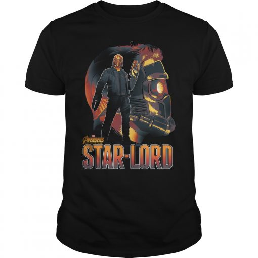 Avengers Infinity War Star Lord Shirt