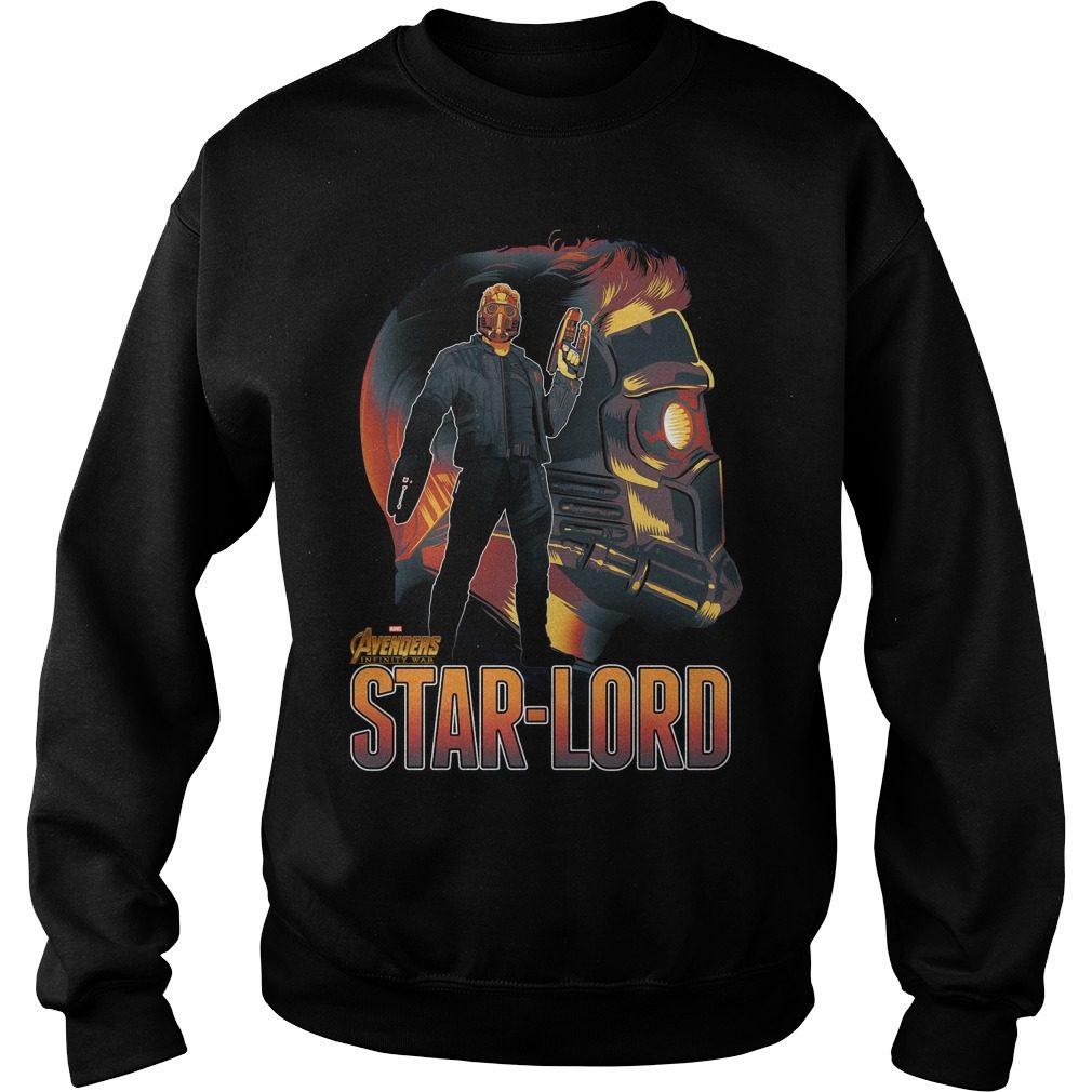 Avengers Infinity War Star Lord Sweater