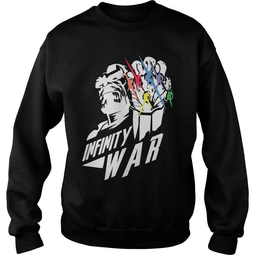 Avengers Infinity War Sweater