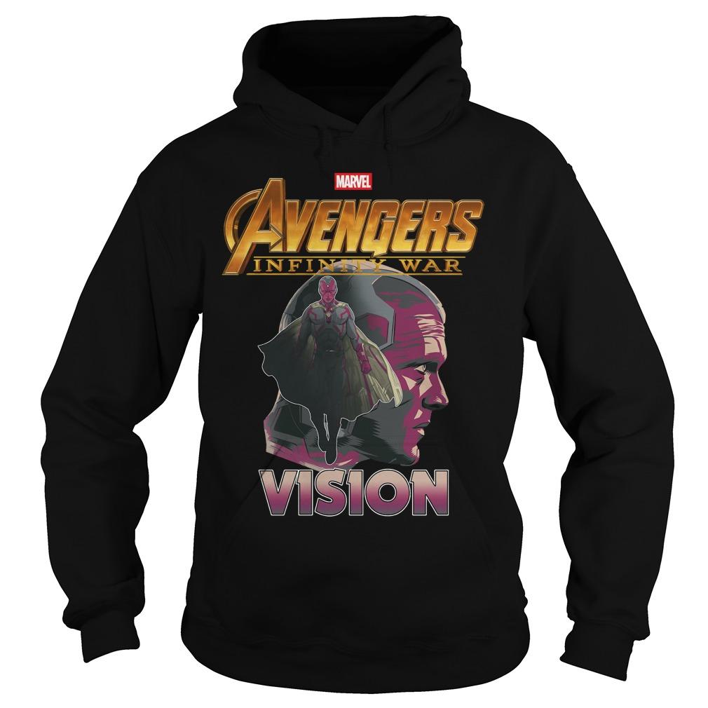 Avengers Infinity War Vision Hoodie