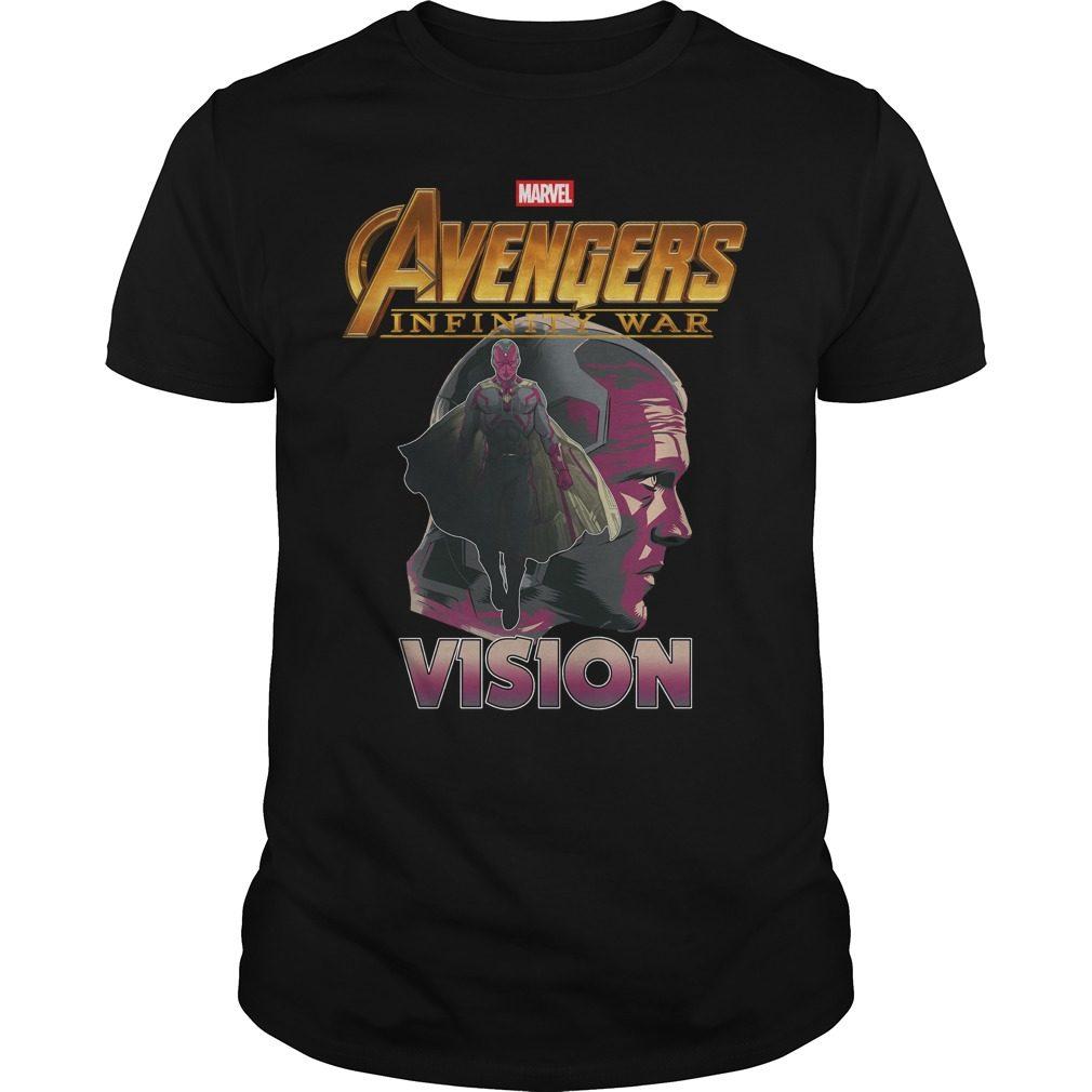 Avengers Infinity War Vision Shirt