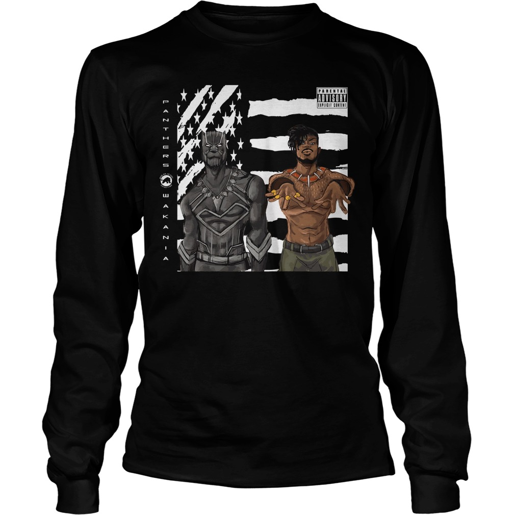 Black Panther and Outkast Stankonia Longsleeve Tee