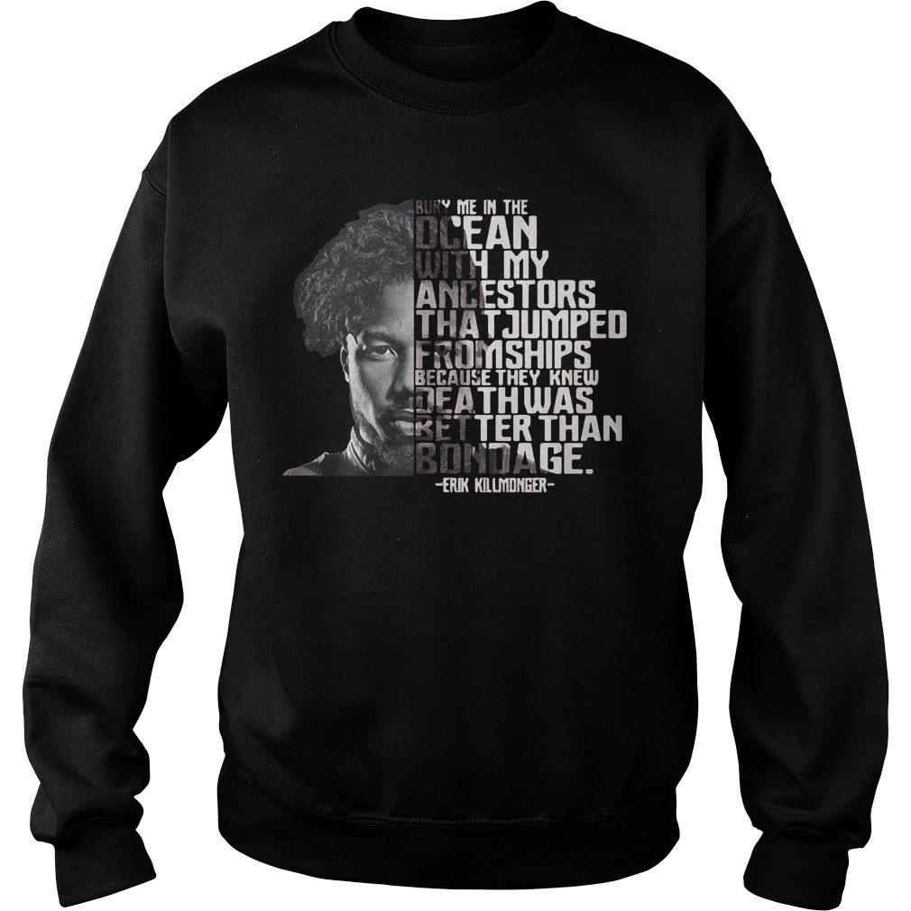Bury Ocean Ancestors Erik Killmonger Black Panther Sweater