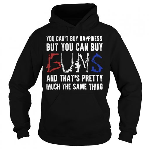 Cant Buy Happiness Can Buy Buns Hoodie