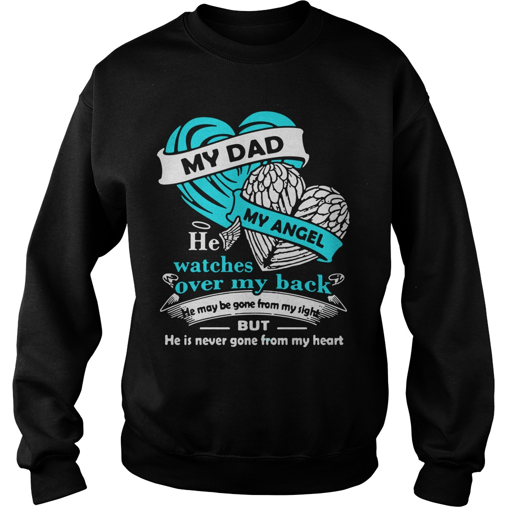 Dad Angel Watches Back Sweater