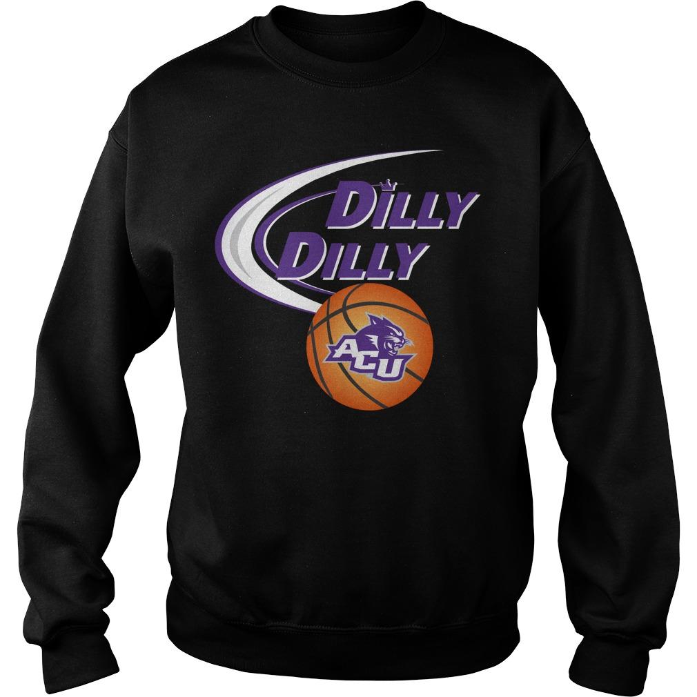 Dilly Dilly Abilene Christian University Ncaa Basketball Sweater