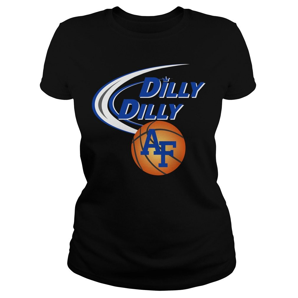Dilly Dilly Air Force Ncaa Basketball Ladies Tee
