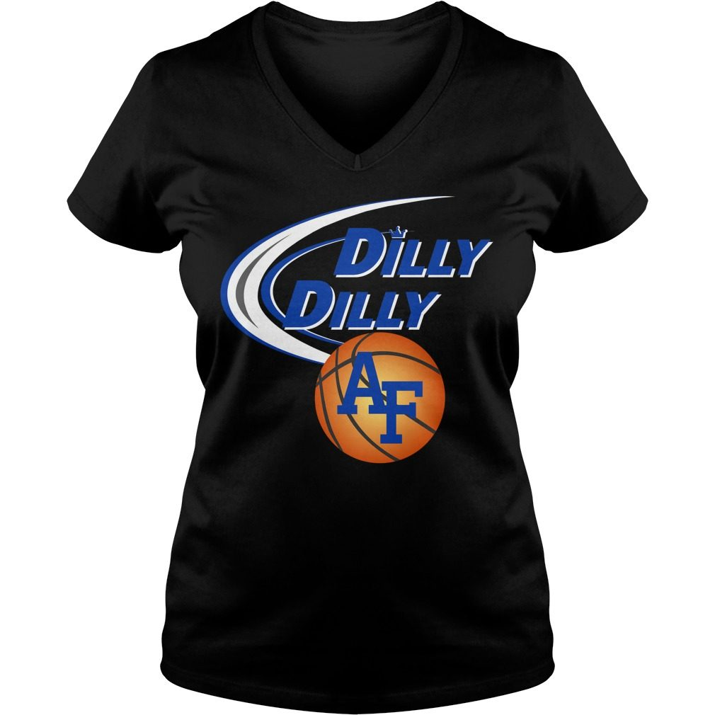 Dilly Dilly Air Force Ncaa Basketball V Neck T Shirt