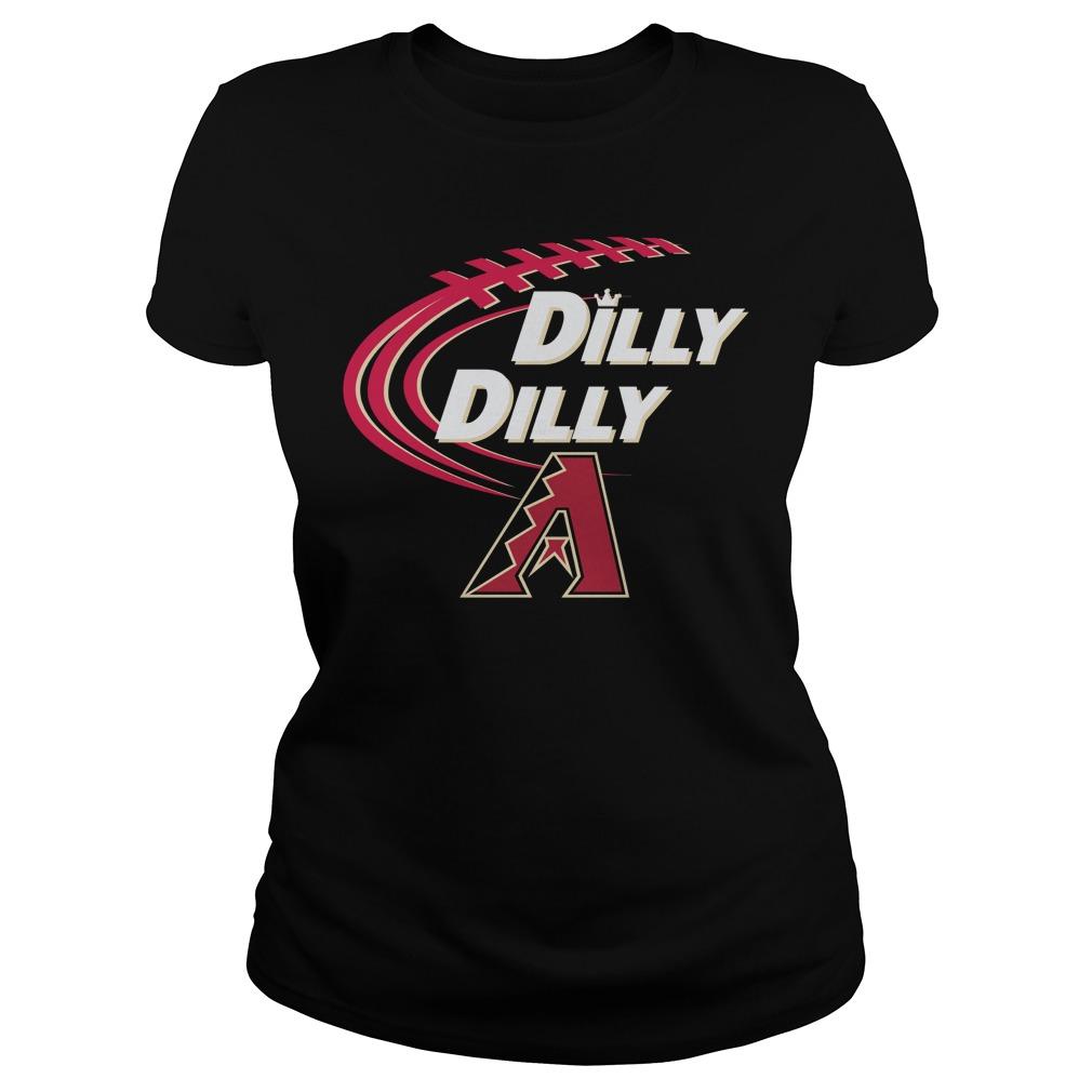 Dilly Dilly Arizona Diamondbacks Bud Light Mlb Baseball Ladies Tee