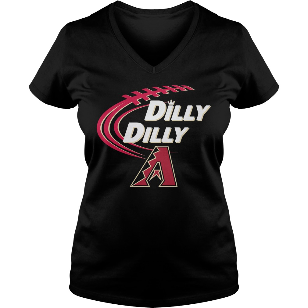 Dilly Dilly Arizona Diamondbacks Bud Light Mlb Baseball V Neck T Shirt