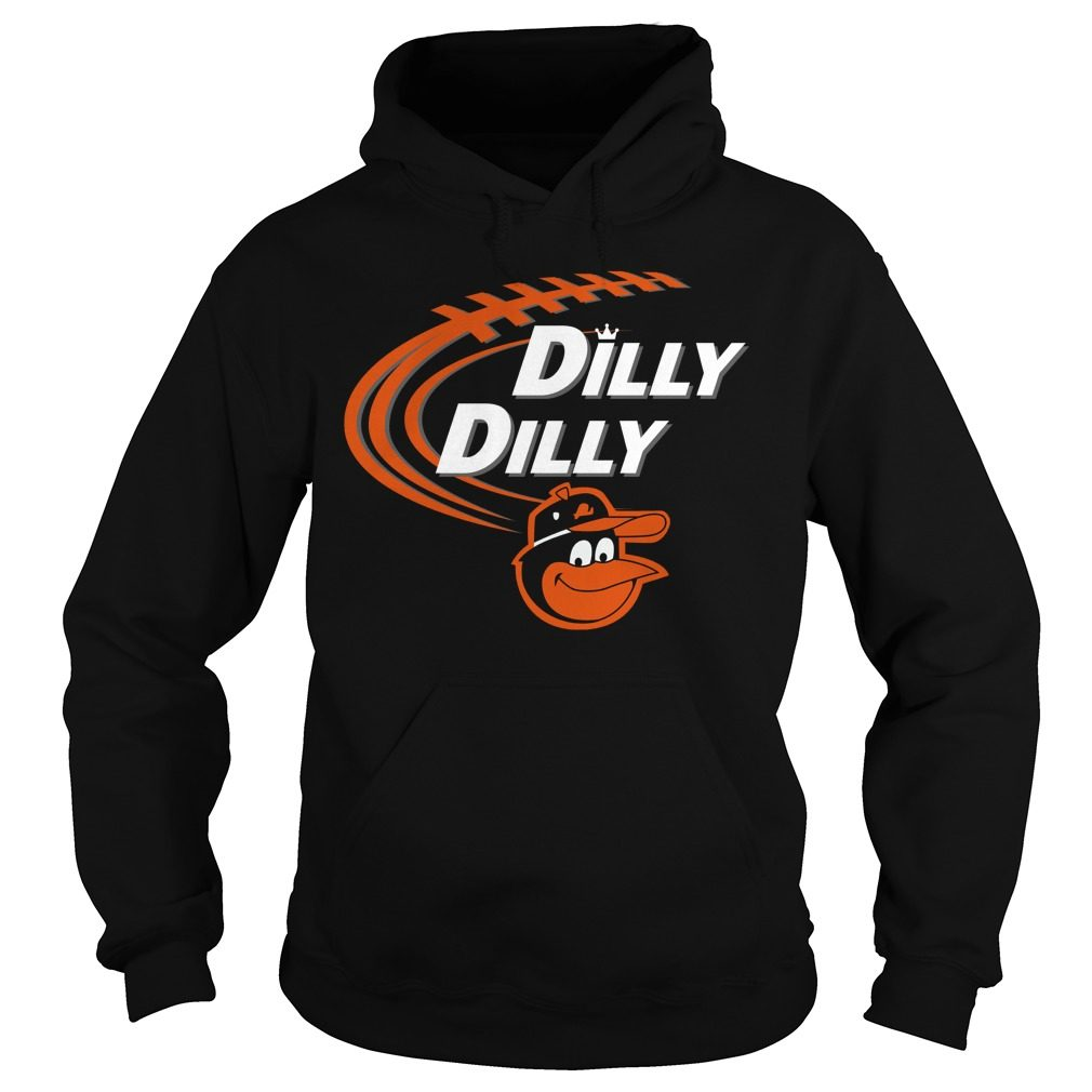 Dilly Dilly Baltimore Orioles Bud Light Mlb Baseball Hoodie