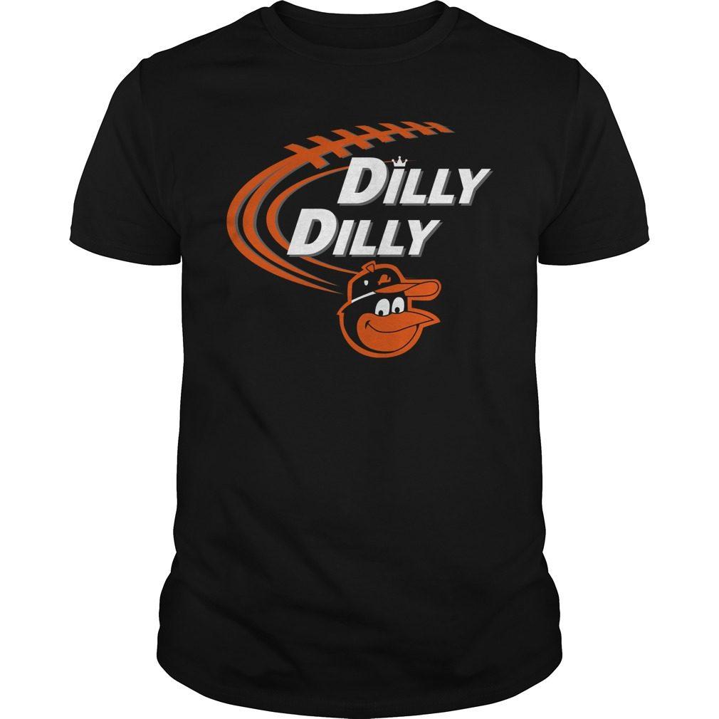 Dilly Dilly Baltimore Orioles Bud Light Mlb Baseball Shirt