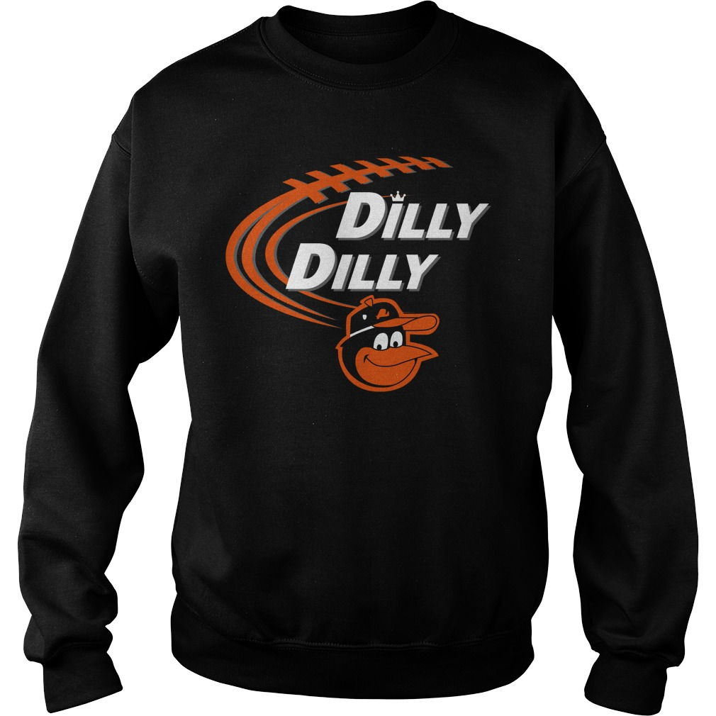 Dilly Dilly Baltimore Orioles Bud Light Mlb Baseball Sweater