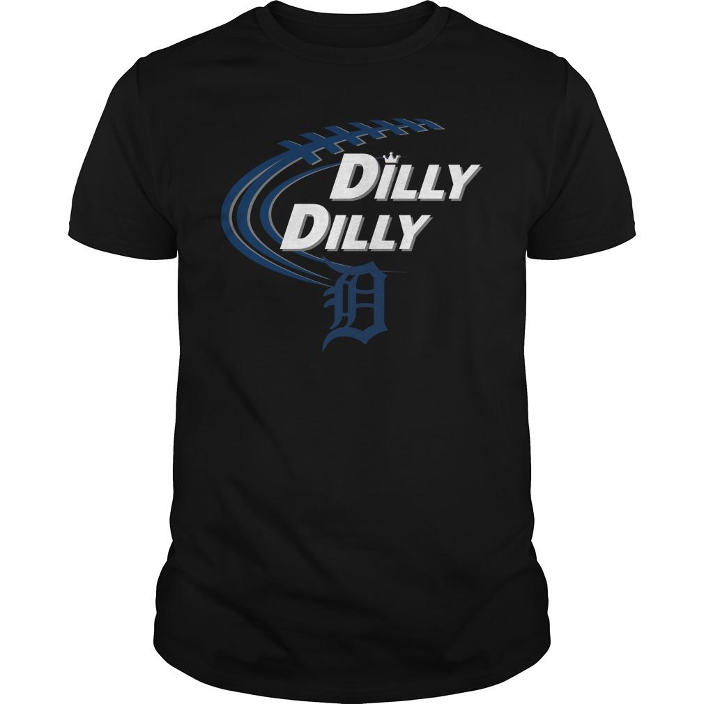 Dilly Dilly Detroit Tigers Bud Light Mlb Baseball Shirt