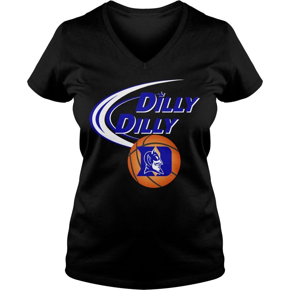 Dilly Dilly Duke Ncaa Basketball V Neck T Shirt