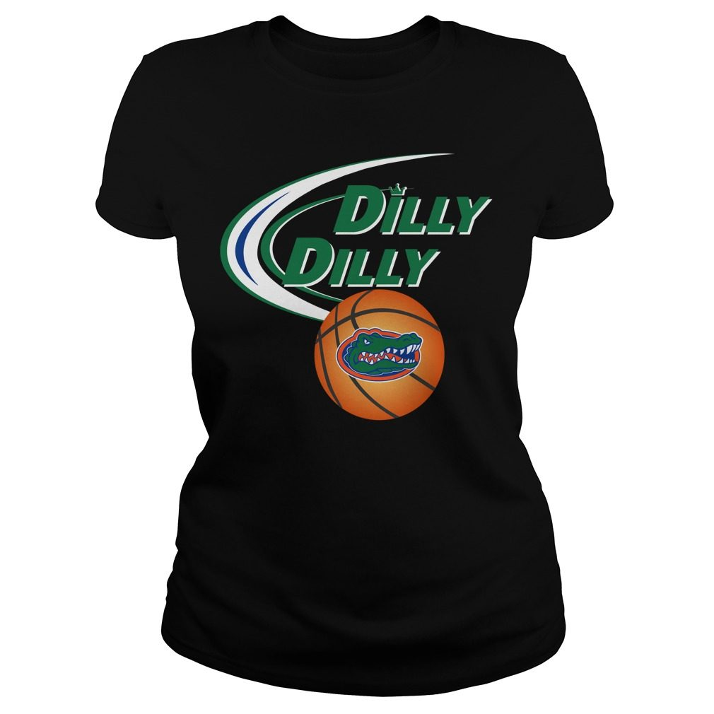 Dilly Dilly Florida Ncaa Basketball Ladies Tee