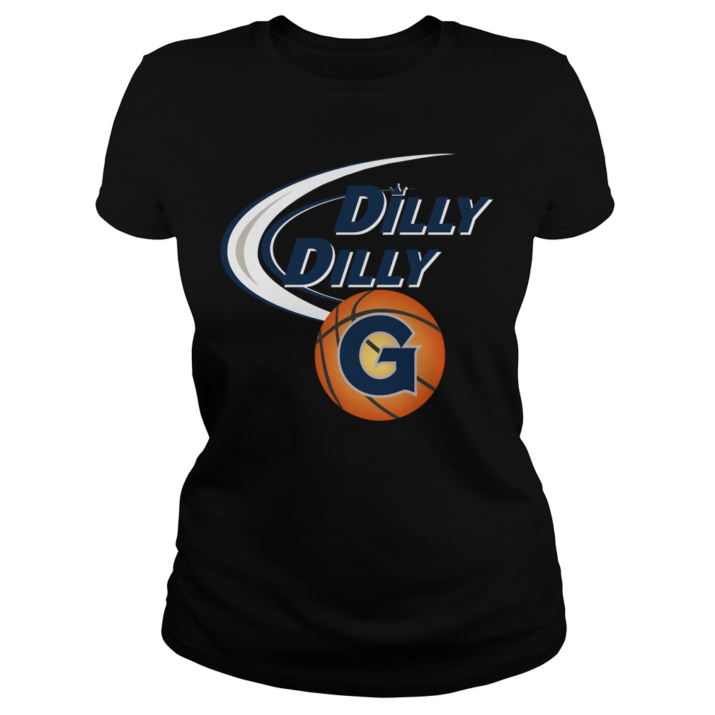 Dilly Dilly Georgetown Ncaa Basketball Ladies Tee