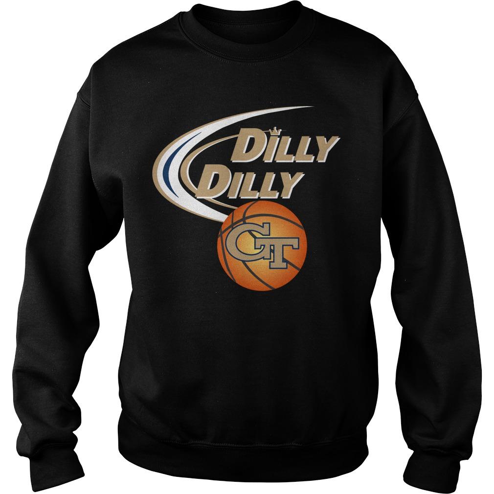 Dilly Dilly Georgia Tech Ncaa Basketball Sweater