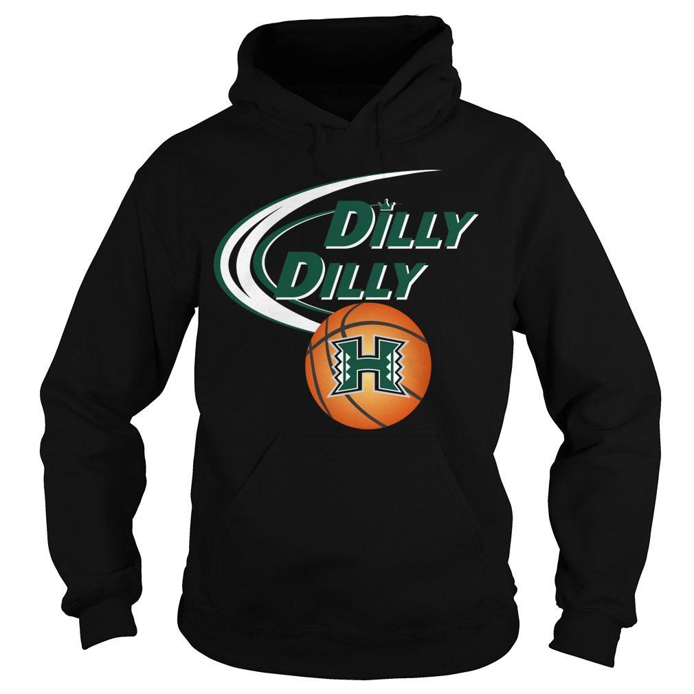 Dilly Dilly Hawaii Ncaa Basketball Hoodie