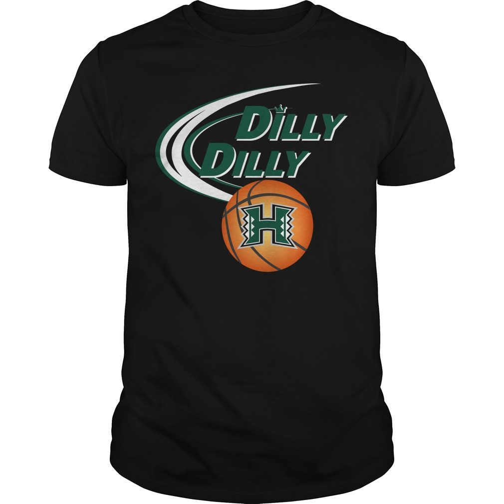 Dilly Dilly Hawaii Ncaa Basketball Shirt