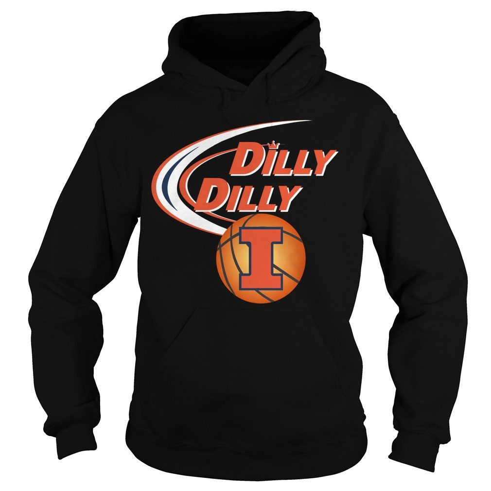 Dilly Dilly Illinois Ncaa Basketball Hoodie