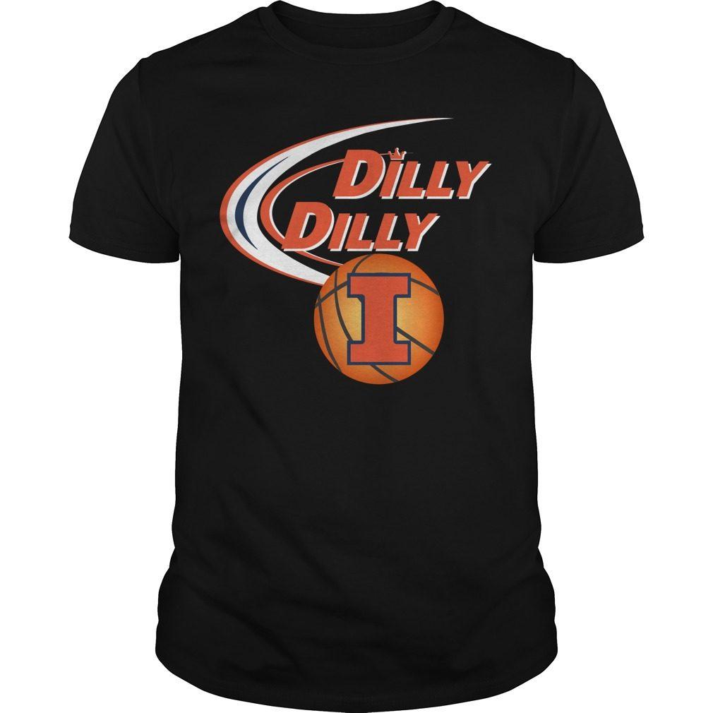 Dilly Dilly Illinois Ncaa Basketball Shirt