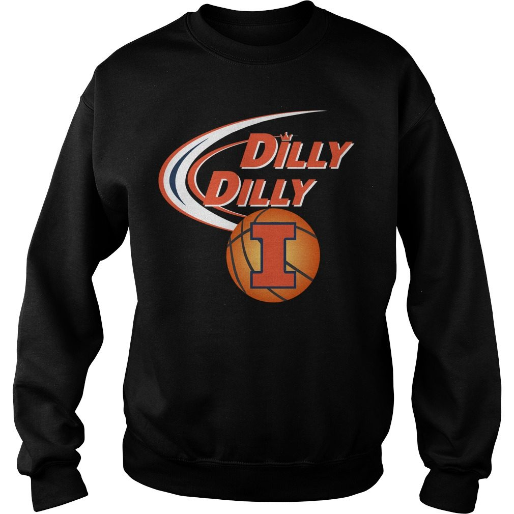 Dilly Dilly Illinois Ncaa Basketball Sweater