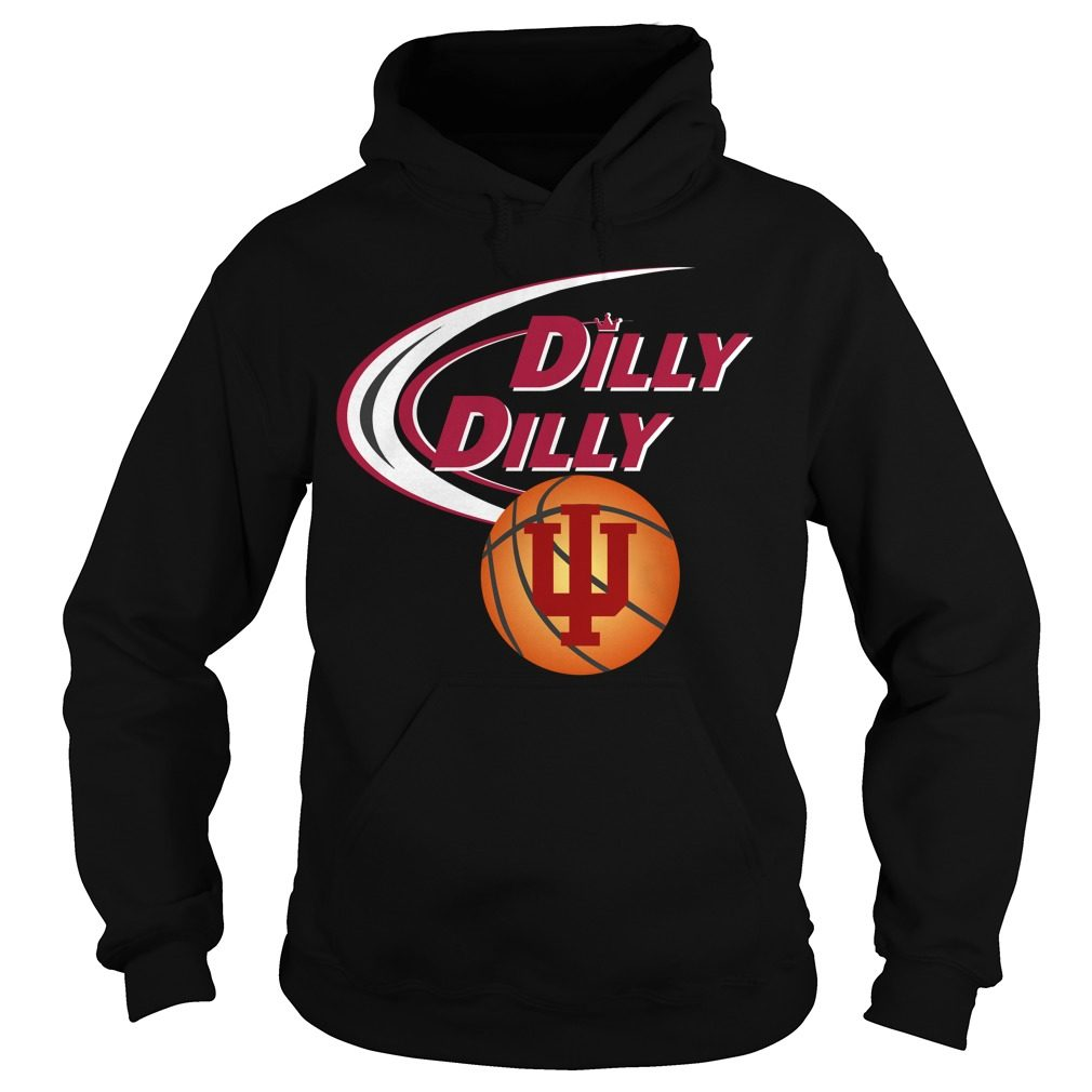 Dilly Dilly Indiana Ncaa Basketball Hoodie