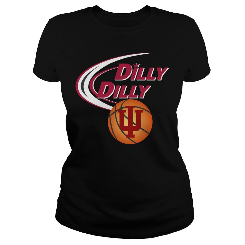 Dilly Dilly Indiana Ncaa Basketball Ladies Tee