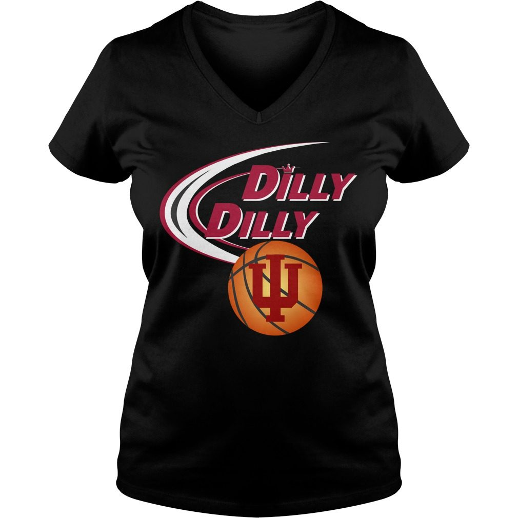 Dilly Dilly Indiana Ncaa Basketball V Neck T Shirt