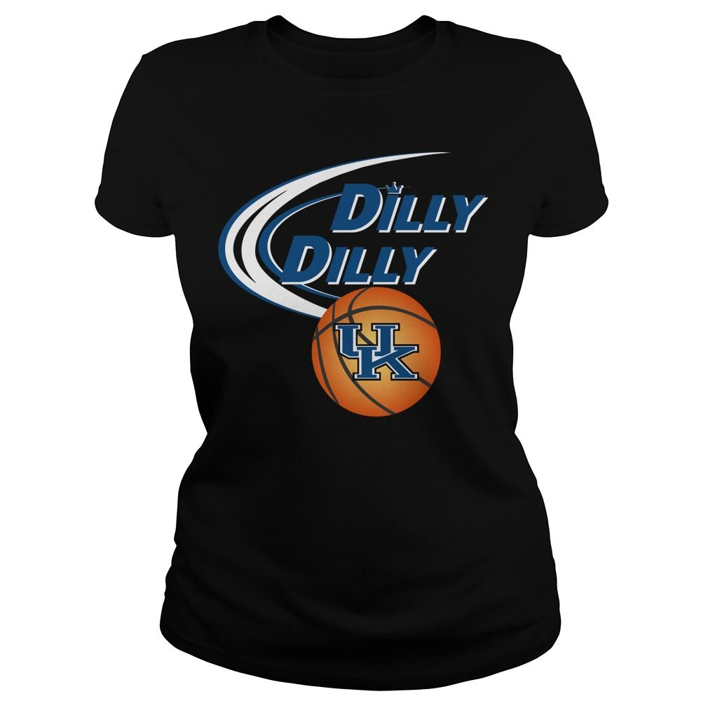Dilly Dilly Kentucky Ncaa Basketball Ladies Tee