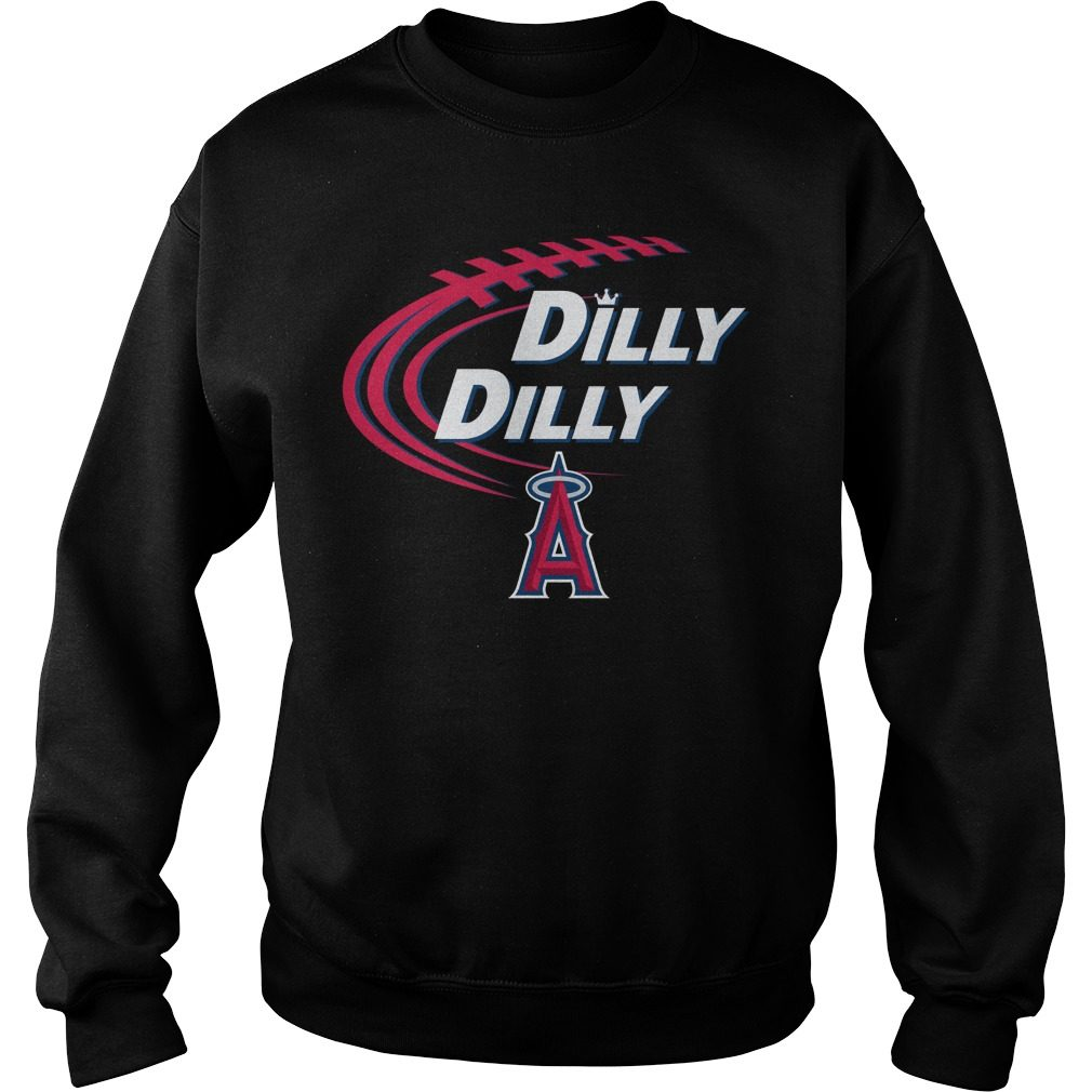 Dilly Dilly Los Angeles Angels Bud Light Mlb Baseball Sweater
