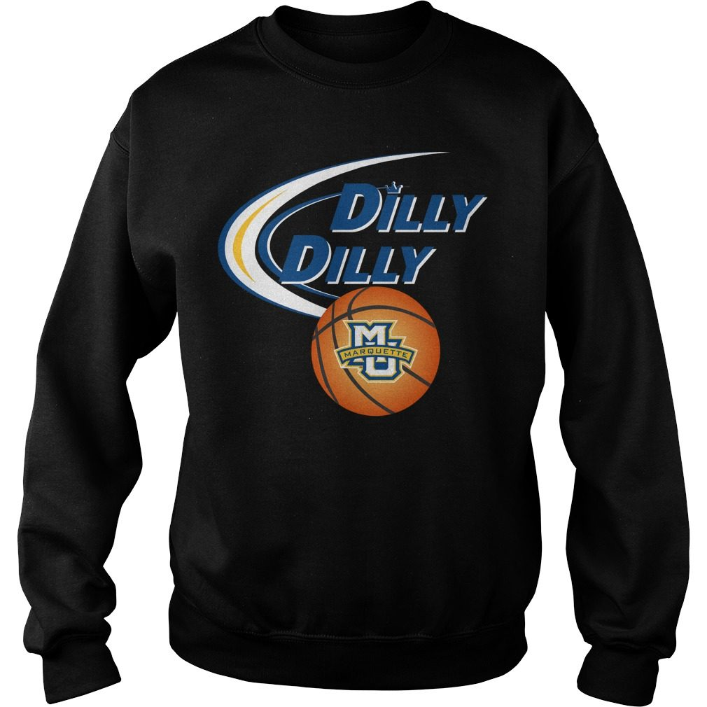 Dilly Dilly Marquette University Ncaa Basketball Sweater