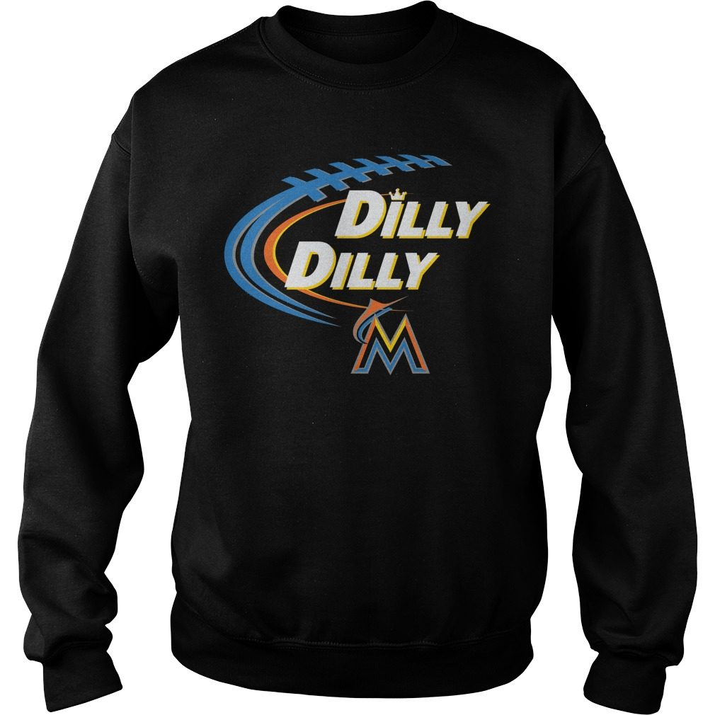 Dilly Dilly Miami Marlins Bud Light Mlb Baseball Sweater