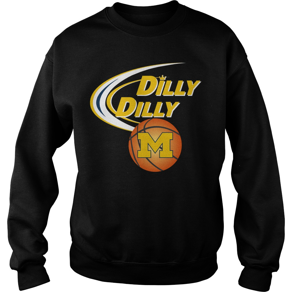 Dilly Dilly Michigan Ncaa Basketball Sweater