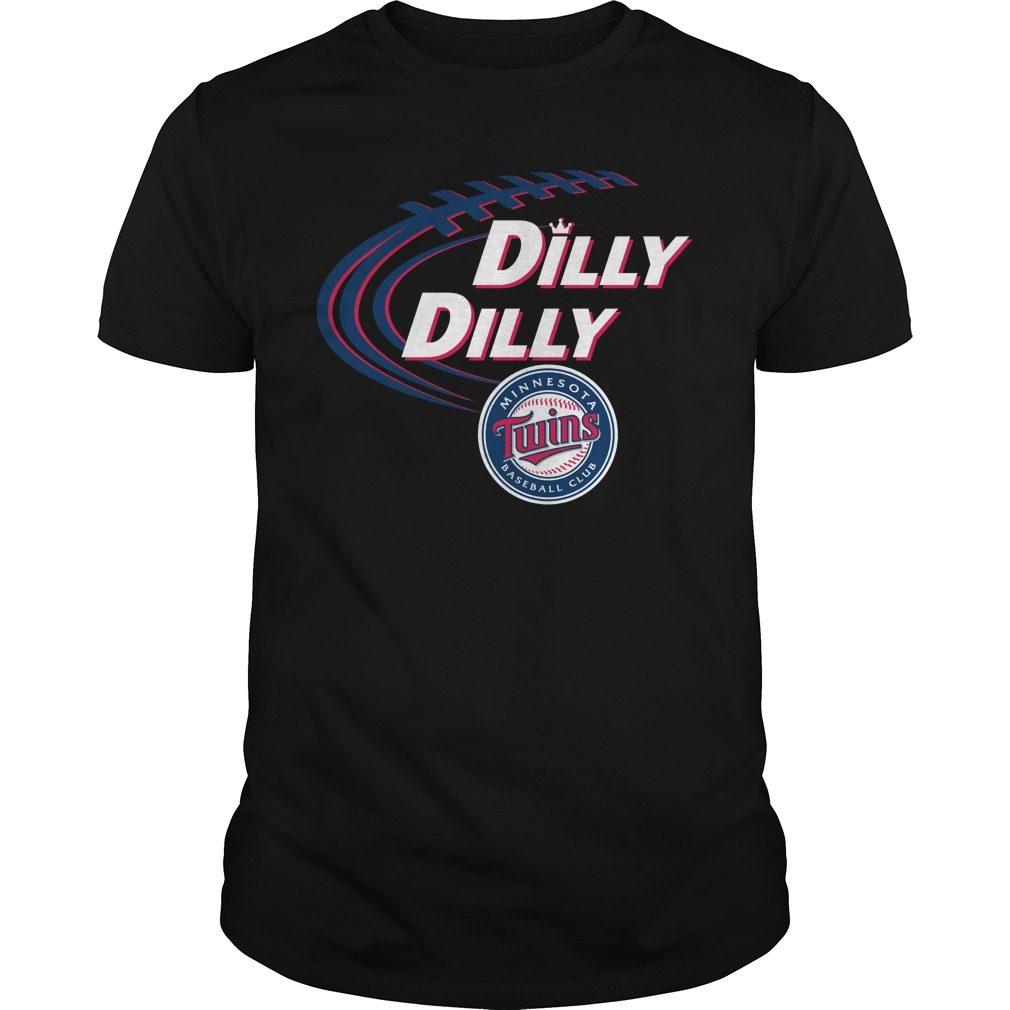 Dilly Dilly Minnesota Twins Bud Light Mlb Baseball Shirt