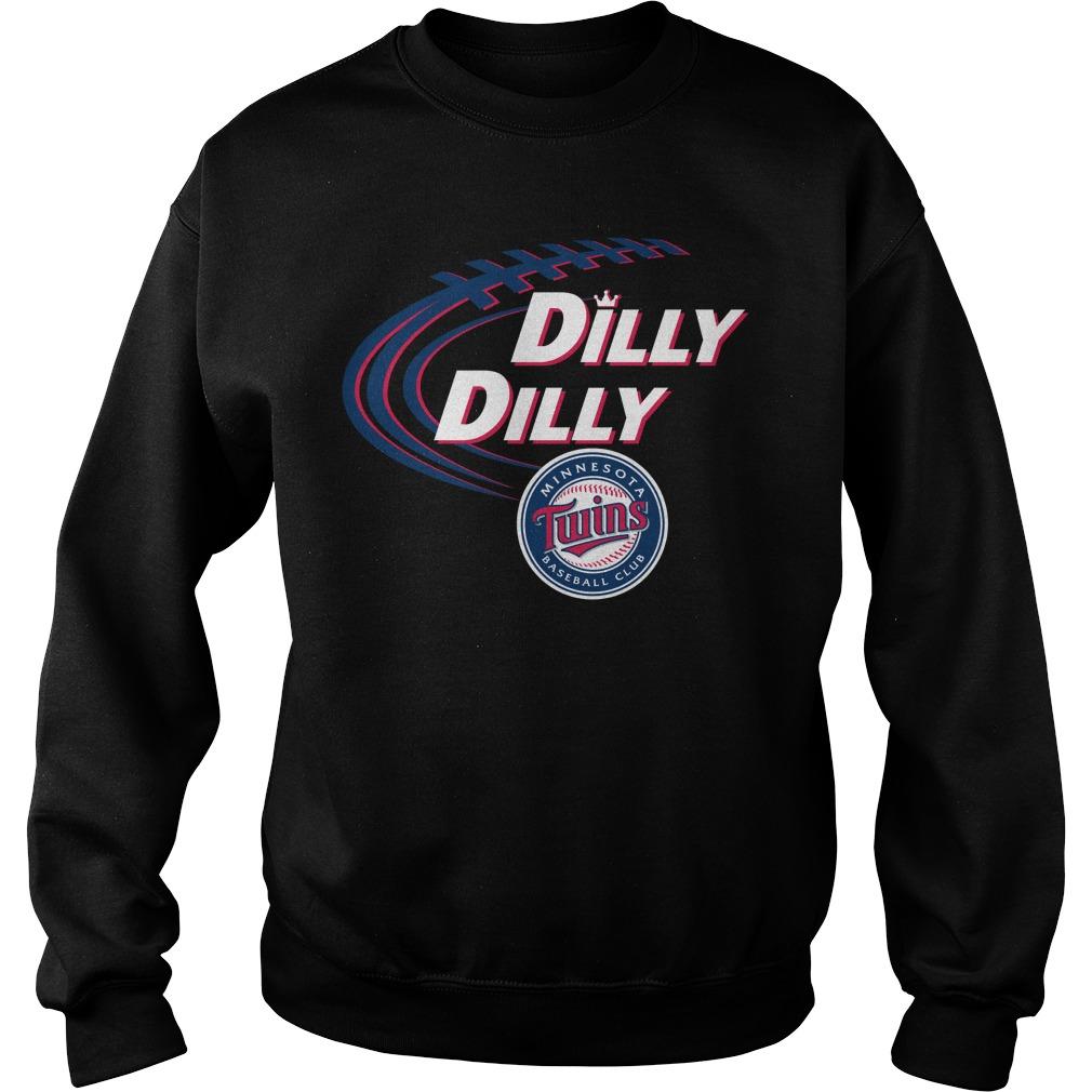 Dilly Dilly Minnesota Twins Bud Light Mlb Baseball Sweater
