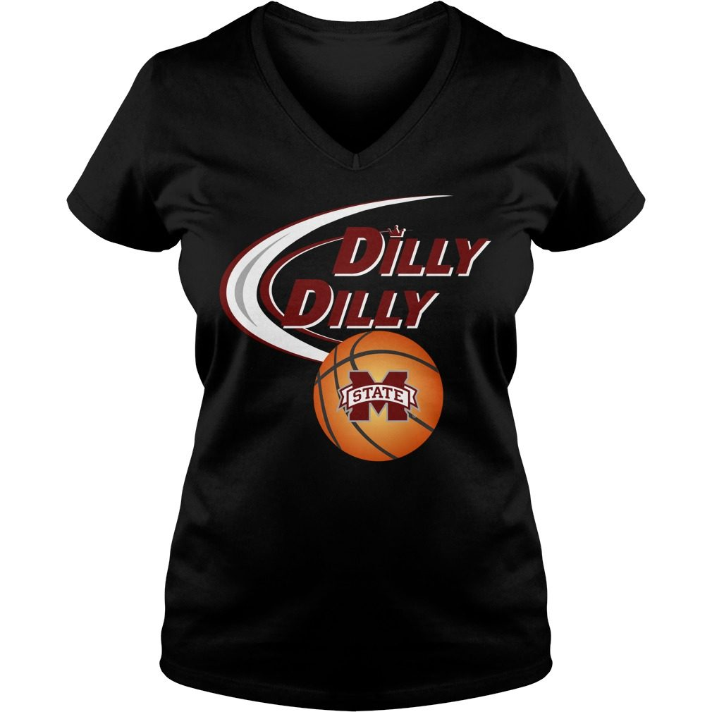 Dilly Dilly Mississippi State Ncaa Basketball V Neck T Shirt