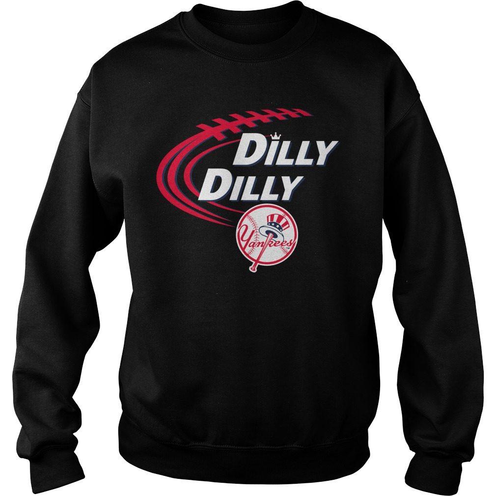 Dilly Dilly New York Yankees Bud Light Mlb Baseball Sweater