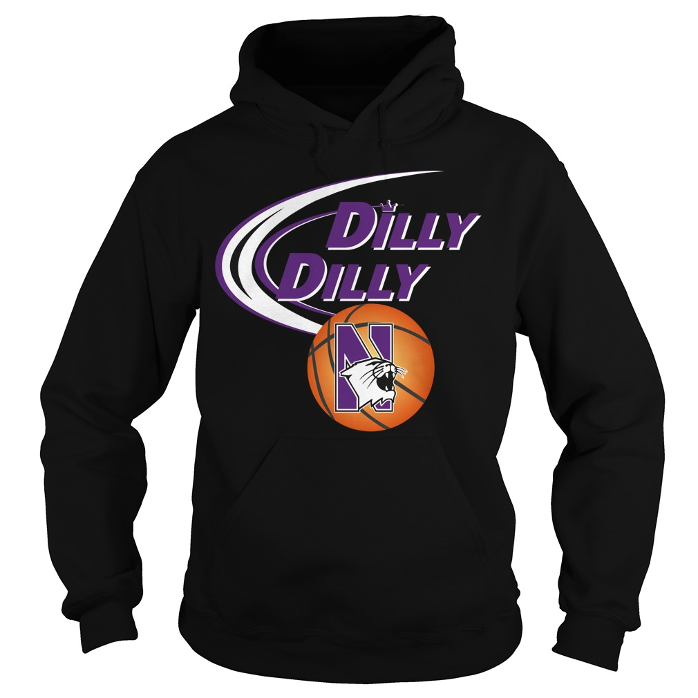 Dilly Dilly Northwestern Ncaa Basketball Hoodie