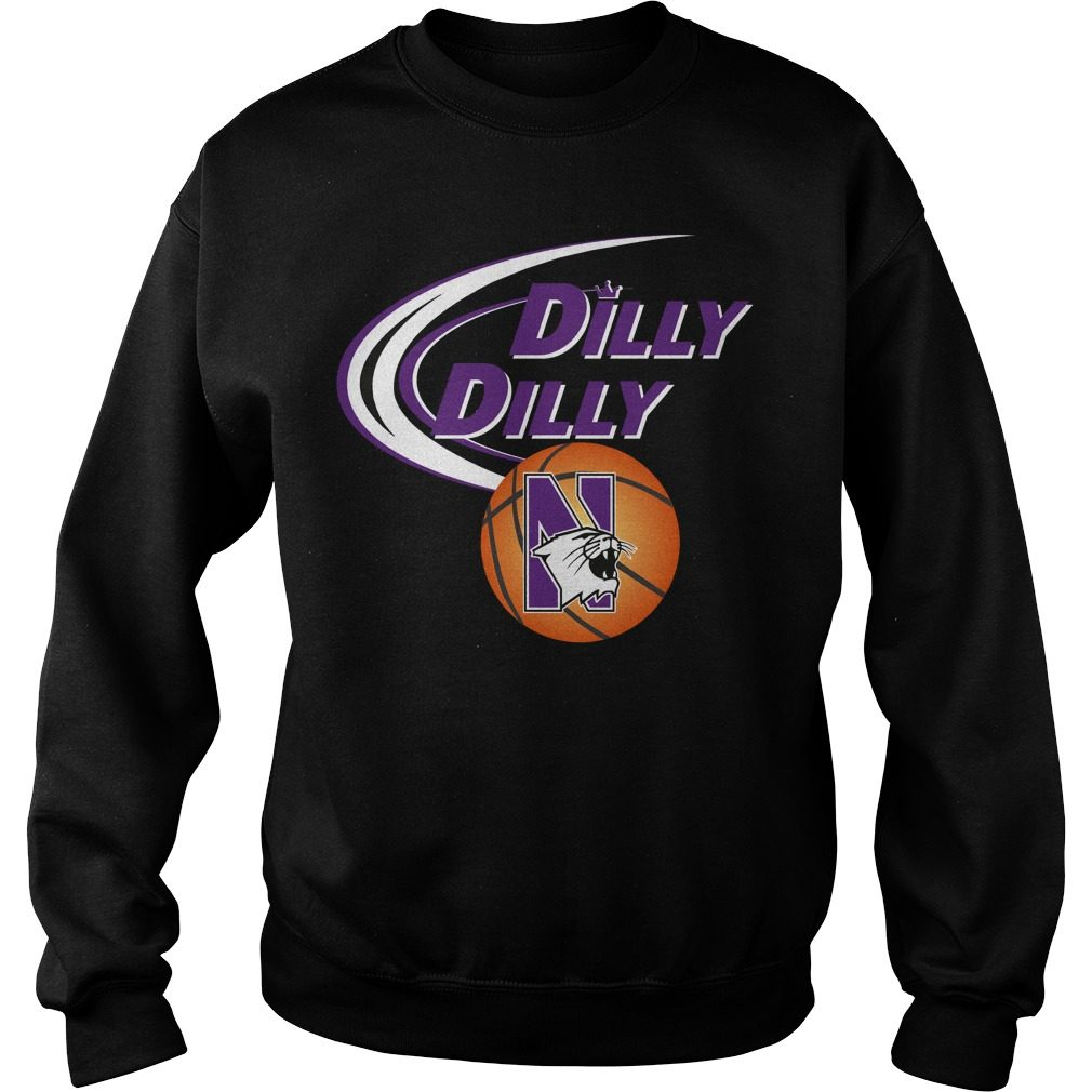 Dilly Dilly Northwestern Ncaa Basketball Sweater