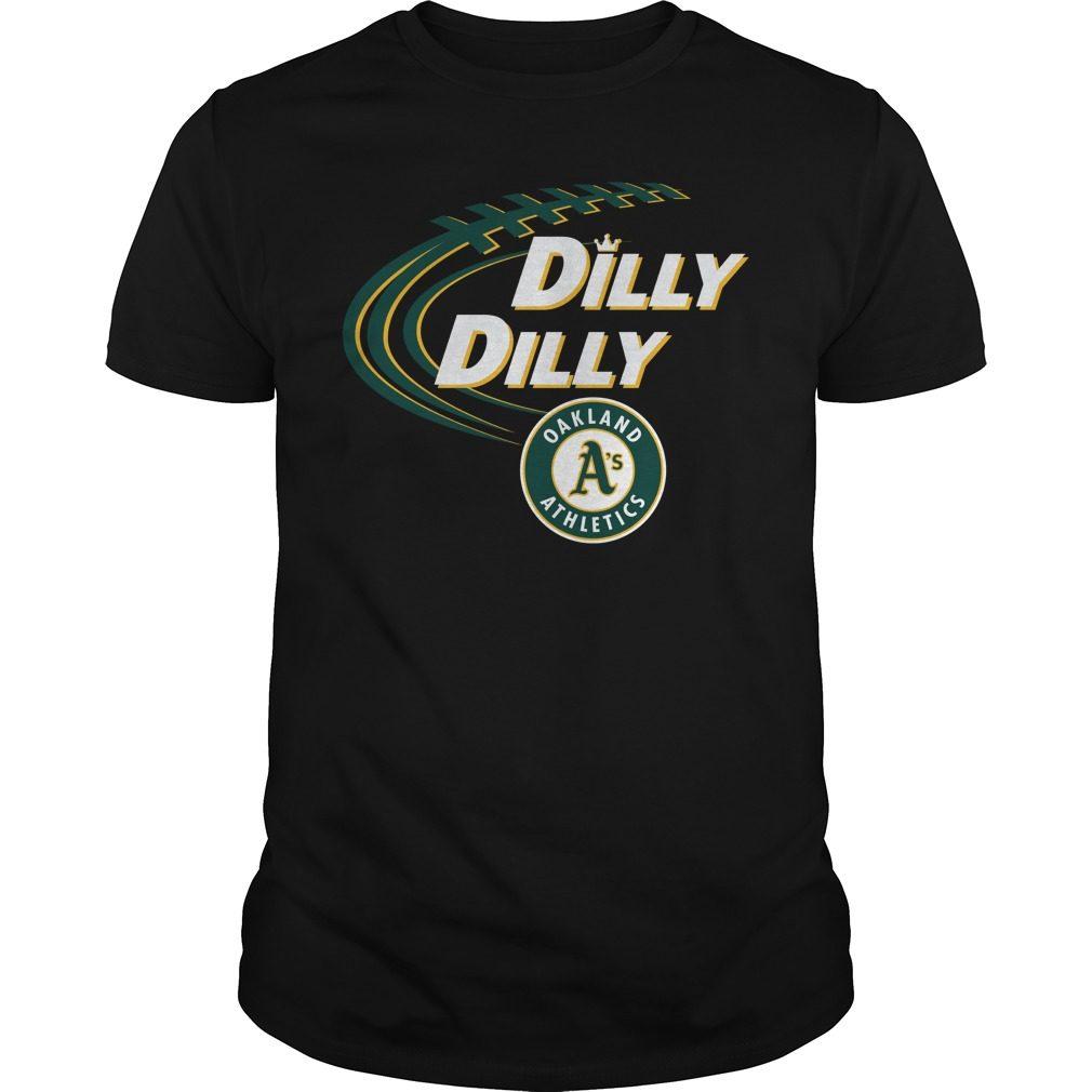 Dilly Dilly Oakland Athletics Bud Light Mlb Baseball Shirt