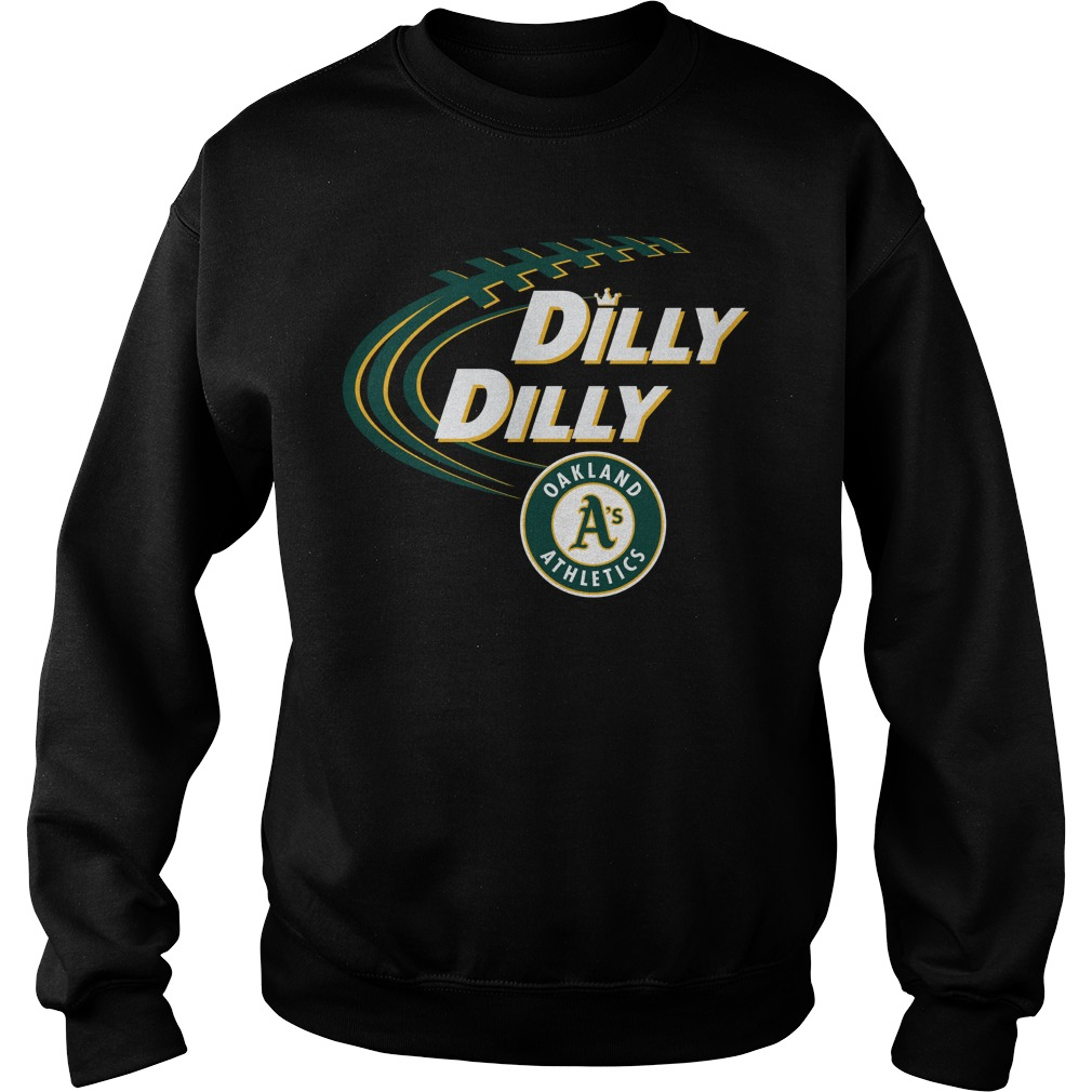 Dilly Dilly Oakland Athletics Bud Light Mlb Baseball Sweater