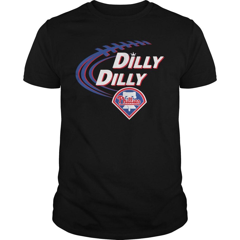 Dilly Dilly Philadelphia Phillies Bud Light Mlb Baseball Shirt