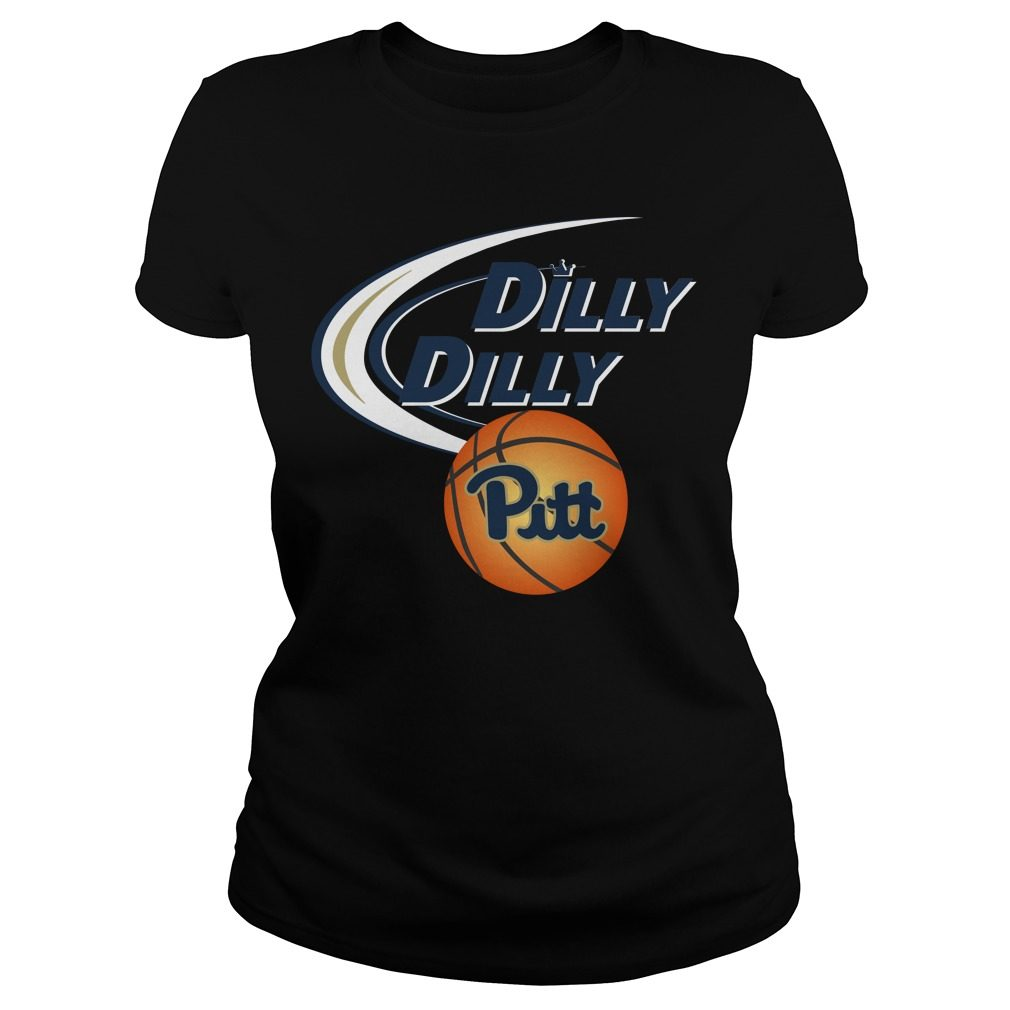 Dilly Dilly Pittsburgh Ncaa Basketball Ladies Tee