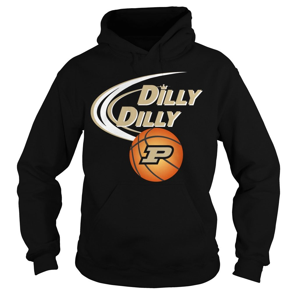 Dilly Dilly Purdue Ncaa Basketball Hoodie