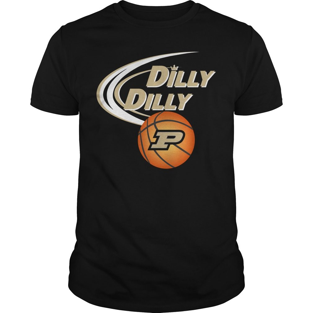 Dilly Dilly Purdue Ncaa Basketball Shirt